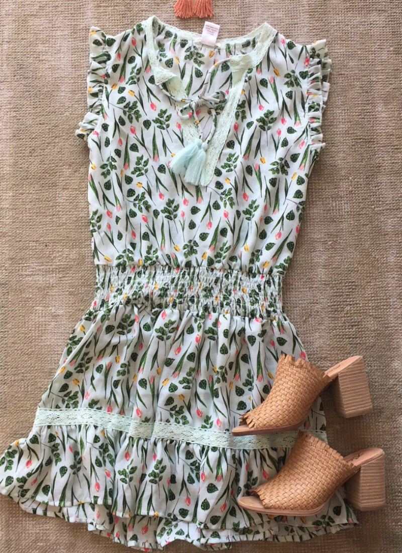 Presley Dress in Mint