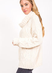 Foster Sweater in Ivory