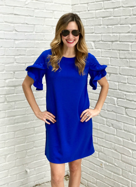 Tula Dress in Blue
