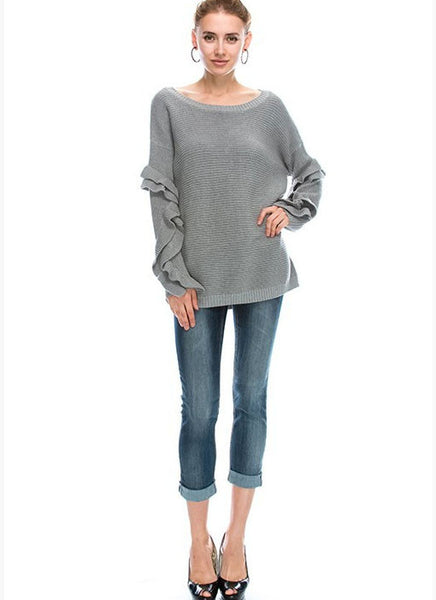 Lilly Sweater in Grey