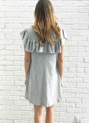 Sabine Dress in Grey