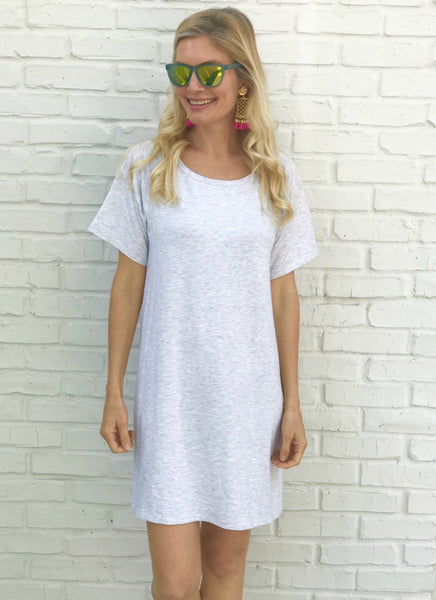 Shae Dress in Grey