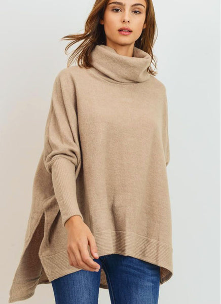 Cade Sweater in Taupe (Ships Next Week)