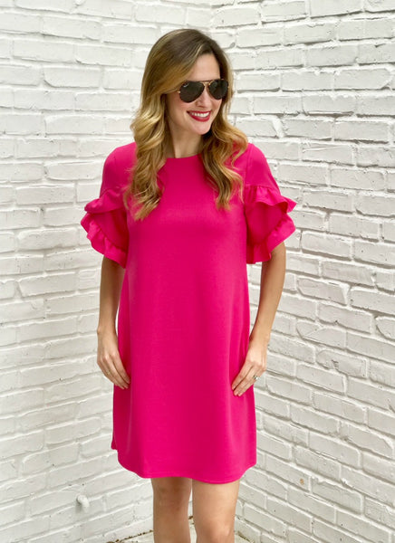 Tula Dress in Pink