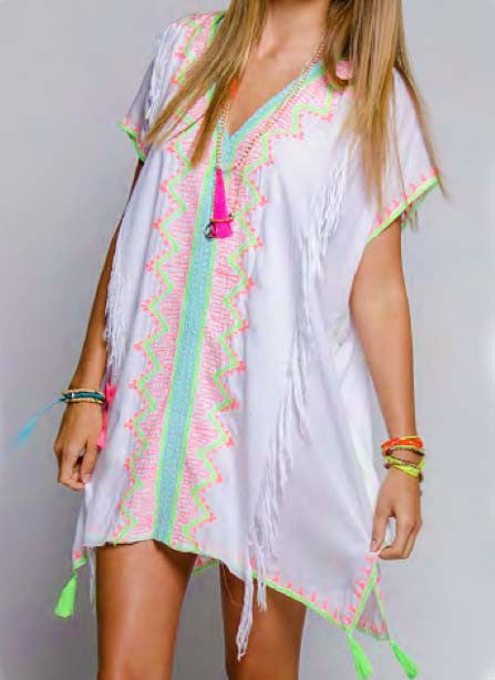 St. Barth's Coverup in White