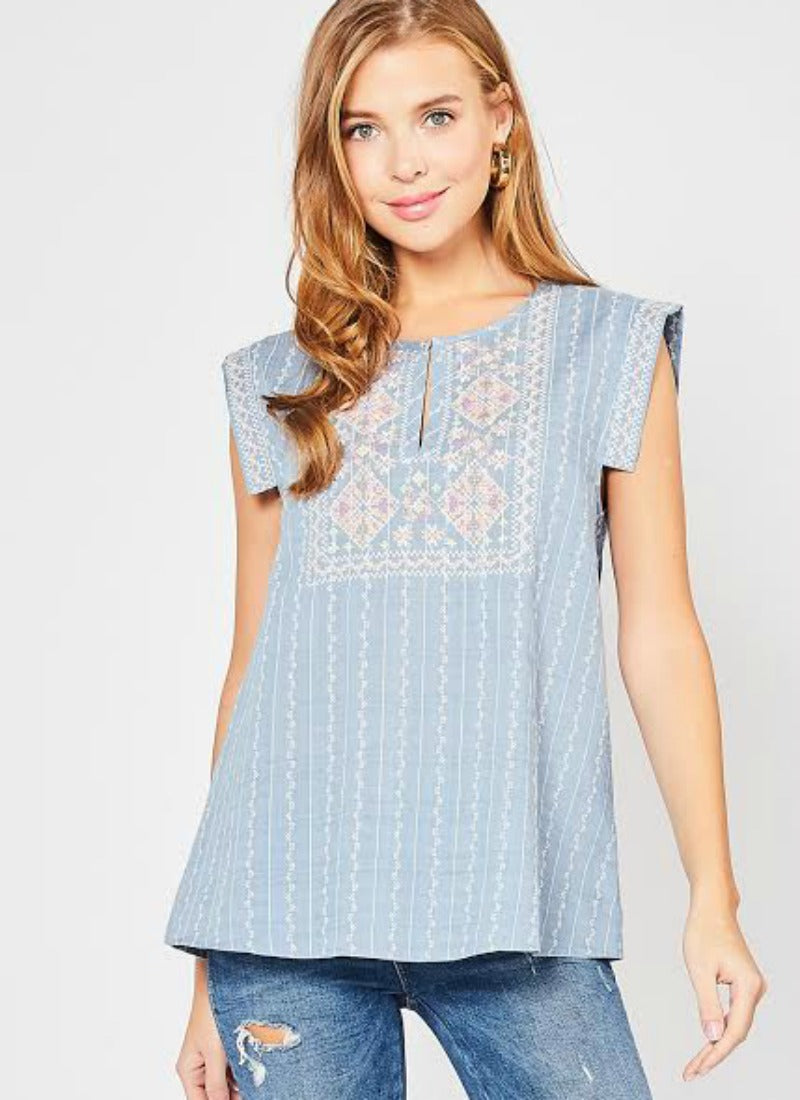 Kenny Top in Blue