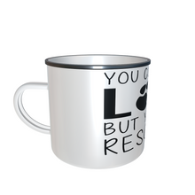 Lade das Bild in den Galerie-Viewer, Tasse Emaille - You cant buy love