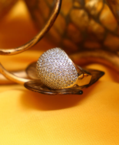 Statement maker Diamond style Ring