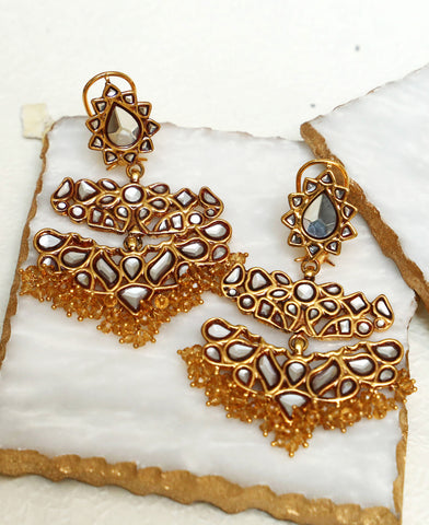 Jhoomer Kundan Earrings