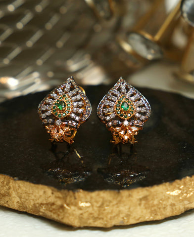 Green Champagne Studs 2