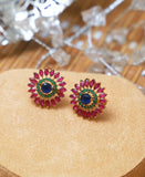 Tri colored studs 3