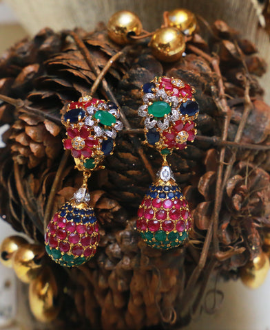 Half Bali Earrings