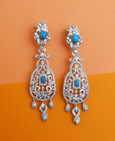 Feroza Egyptian Earrings