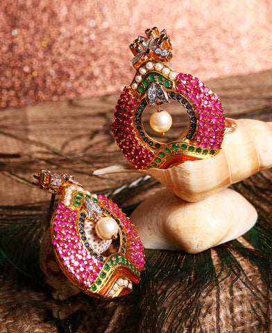 Ruby Bali Earrings