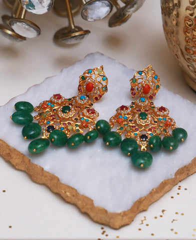 Naurattan Beryl Earrings