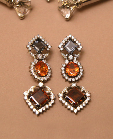 HW Crown Earrings