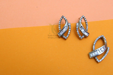 One time Zircon Pendant Set