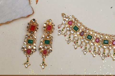 Ruby and Emerald Set