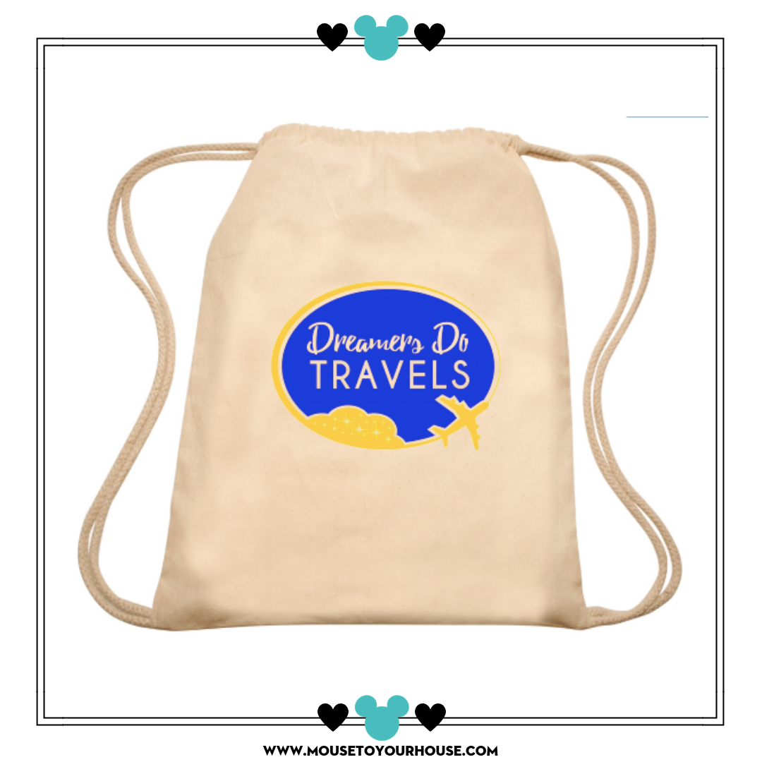 Dreamers Do Travels! A Snack Tote! - Mouse to Your House