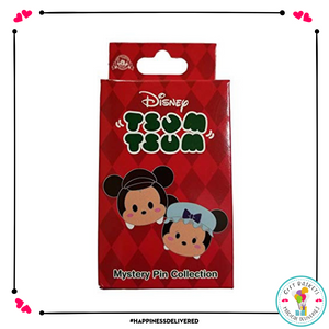 Disney Parks Holiday Tsum Tsum Mystery Pin 2 Pack Add Ons