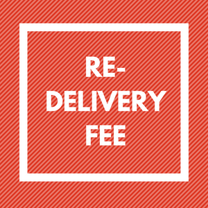 Re-Delivery Fee - Mouse to Your House