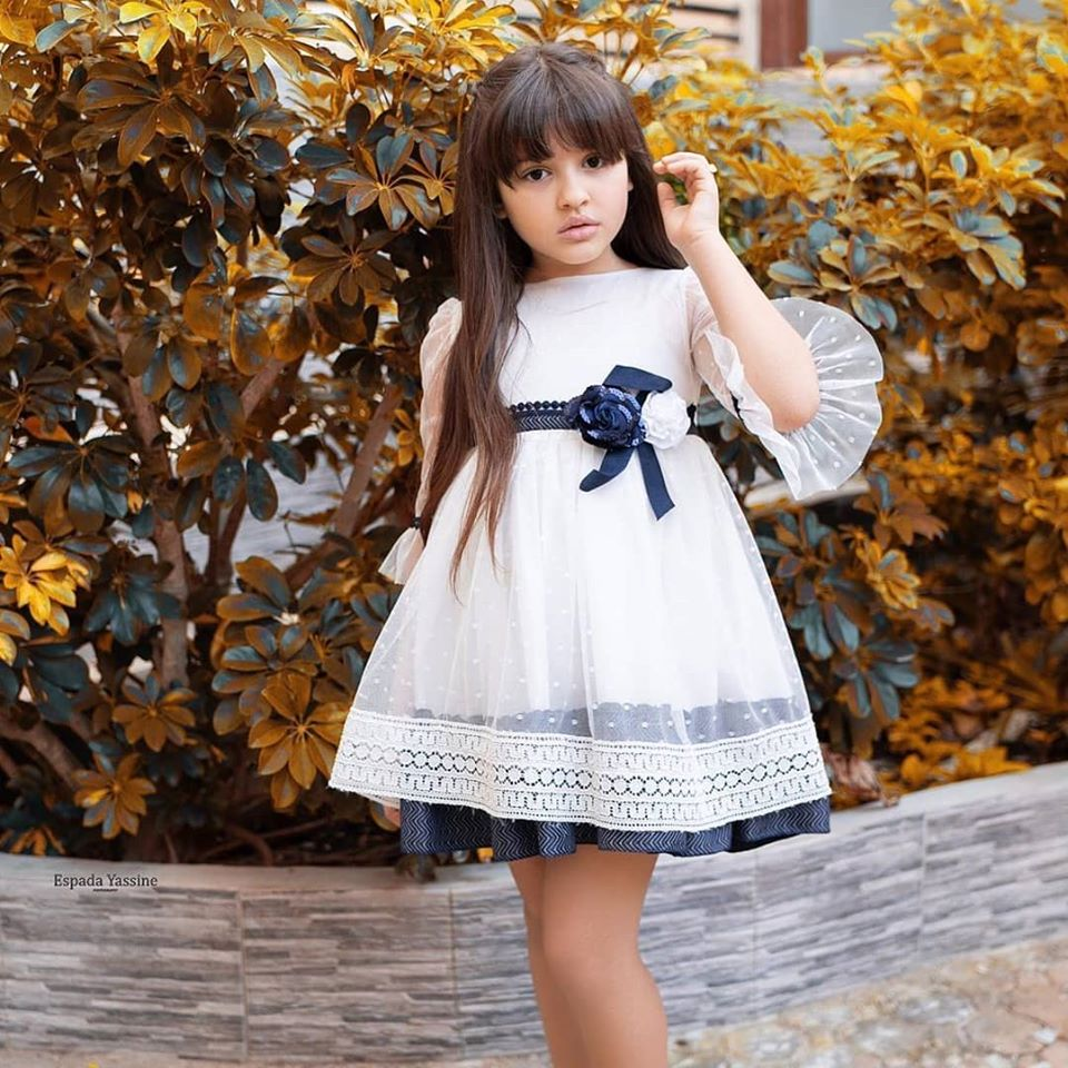 Robe Blanche pour fille