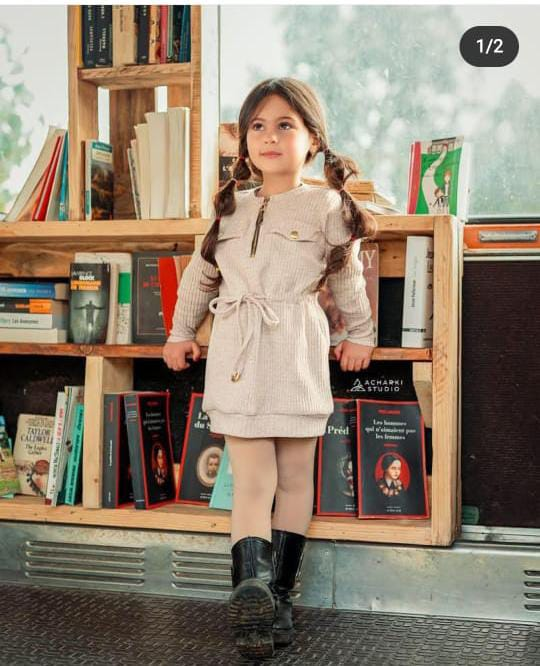Robe Sport Chic pour fille