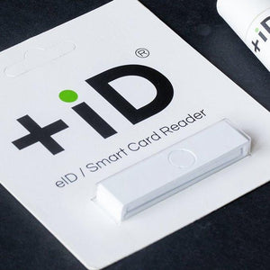 +iD BLACK smart card reader
