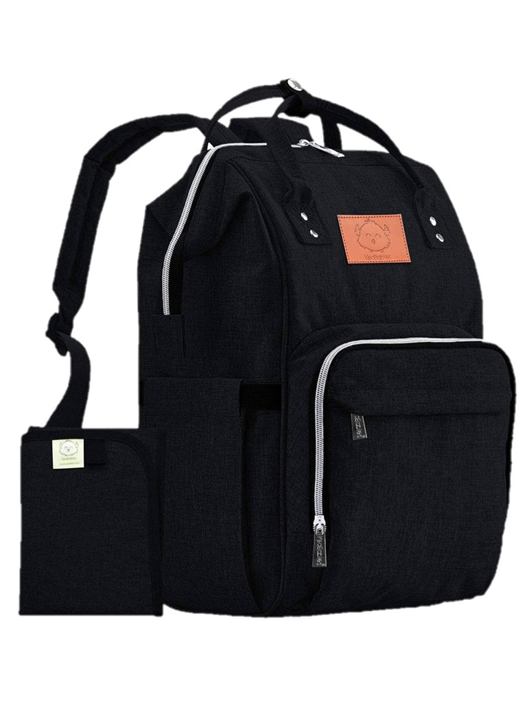 Original Diaper Backpack Bag in Black