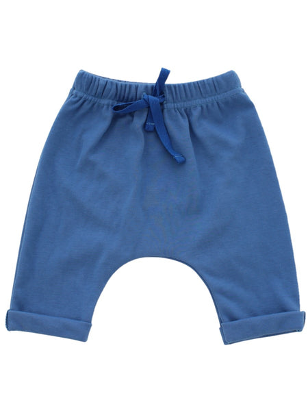 cotton blue baby joggers