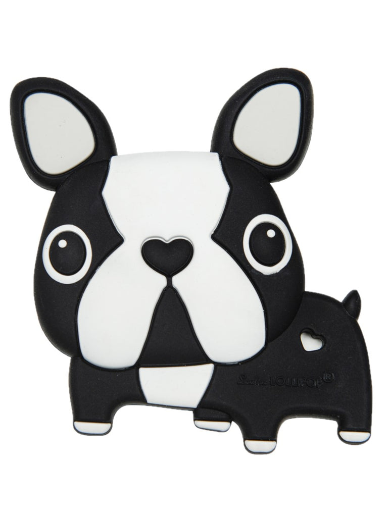 boston terrier teether front
