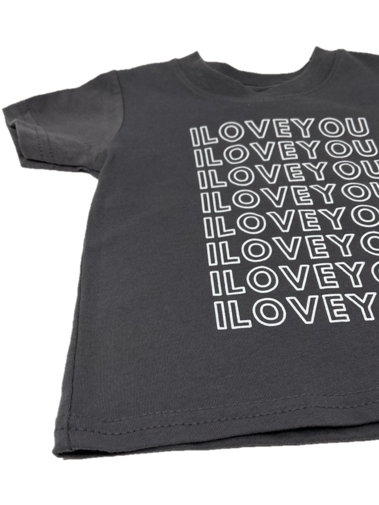 I love you t shirt front product shot