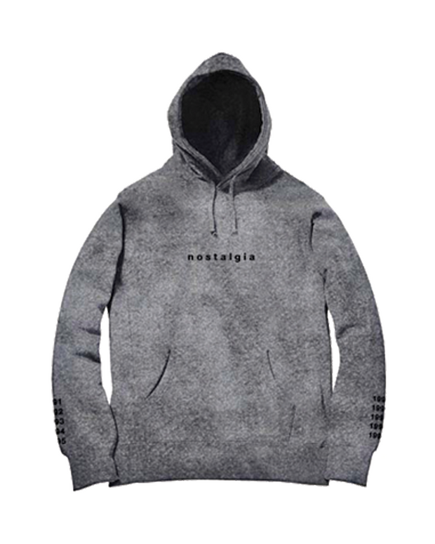 NOSTALGIA HOODED PULLOVER (ASH)