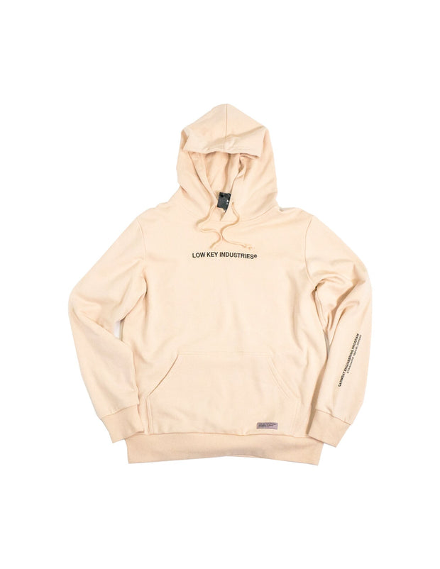 STAFF HOODED PULLOVER (SAND)
