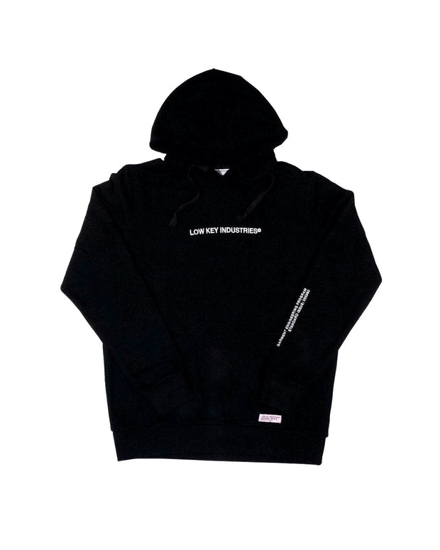 STAFF HOODED PULLOVER