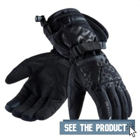 Gloves Heated Tactile