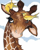Giraffe Diy Paint By Numbers Kits UK AN0123