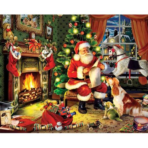 Christmas Diy Paint By Numbers Kits UK CH0014
