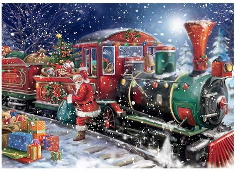 Christmas Diy Paint By Numbers Kits UK CH0015