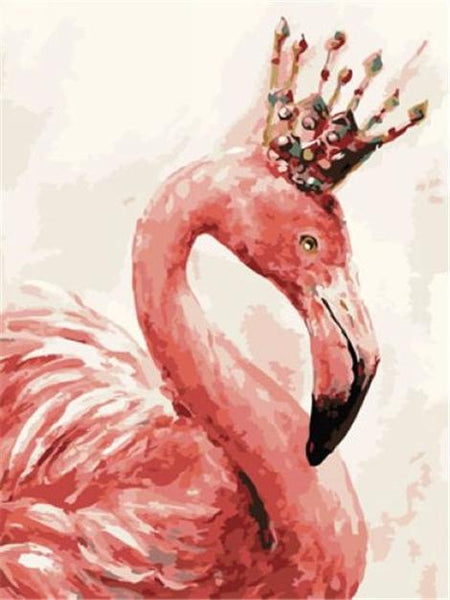Flamingos Diy Paint By Numbers Kits UK AN0176