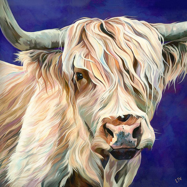 Highland Cow Diy Paint By Numbers Kits UK AN0201