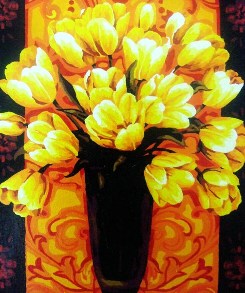 Tulips Diy Paint By Numbers Kits UK PL0251