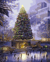 Christmas Series Diy Paint By Numbers Kits UK CH0031