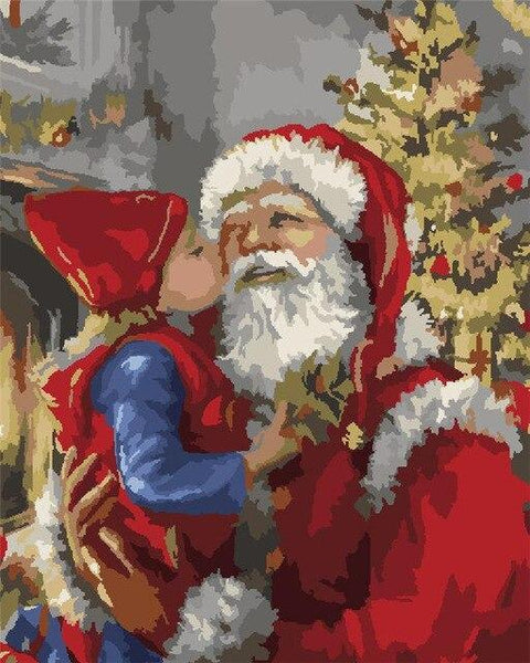 Christmas Series Diy Paint By Numbers Kits UK CH0046