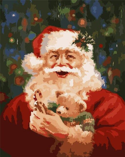 Christmas Series Diy Paint By Numbers Kits UK CH0049