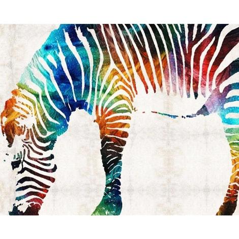 Zebra Diy Paint By Numbers UK AN0790