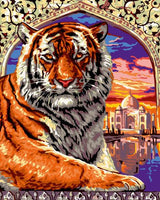 Animal Tiger Diy Paint By Numbers Kits UK AN0005