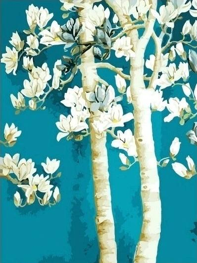 Tree Diy Paint By Numbers Kits UK PL0091
