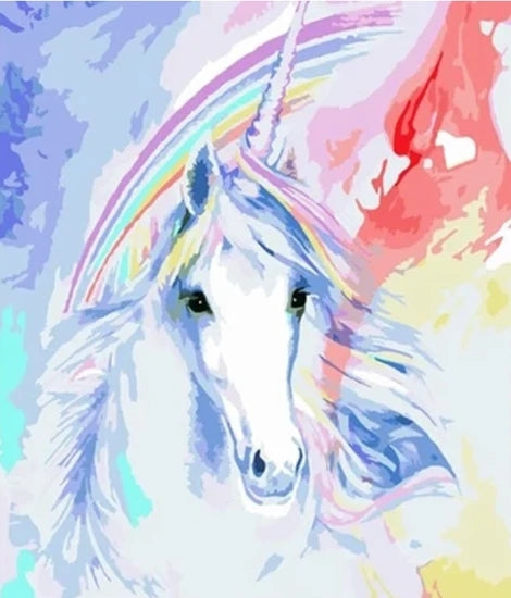 Unicorn Diy Paint By Numbers Kits MA178