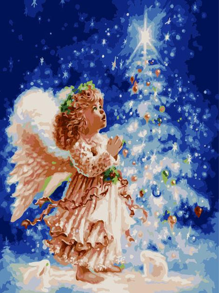 Angel Paint by Numbers Kits UK PO0151